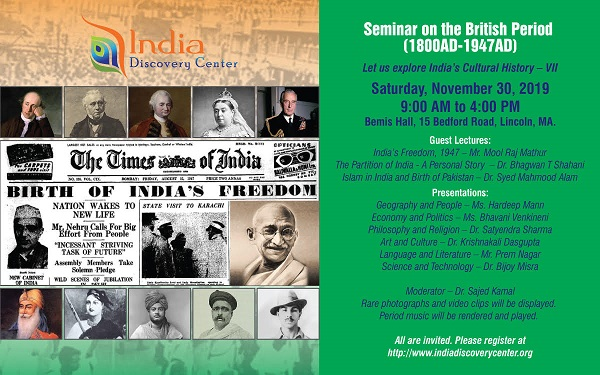 Resilience And Freedom - IDC Seminar Report On India In British Period - Part I