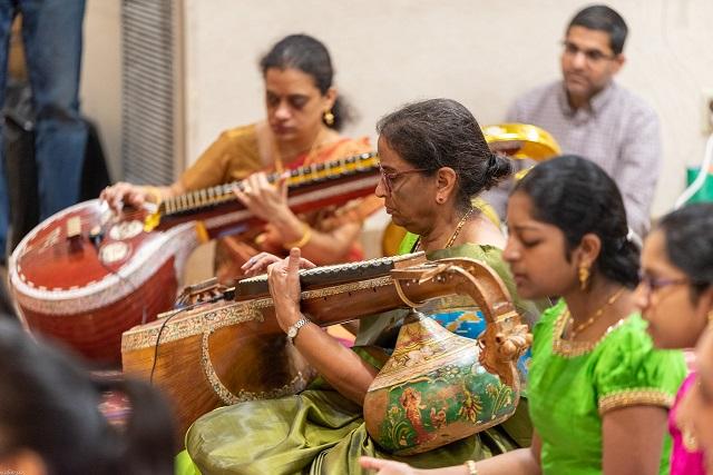 Thyagaraja Aradhana At Chinmaya Maruti