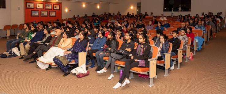 Brahmacharini Shweta Chaitanya Inspires Chinmaya Mission Boston