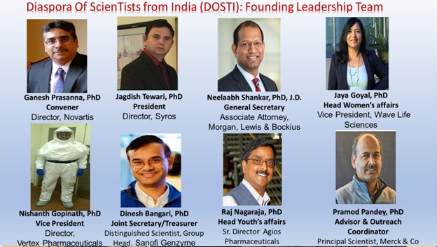 Diaspora Of ScienTists From India (DOSTI)