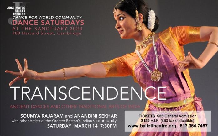 TRANSCENDENCE: Ancient Dances And Other Traditional Arts Of India