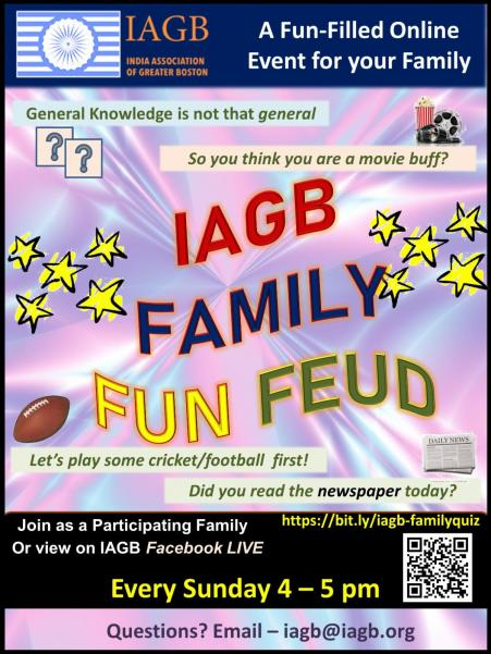 IAGB Hosts Fun Family Virtual Event