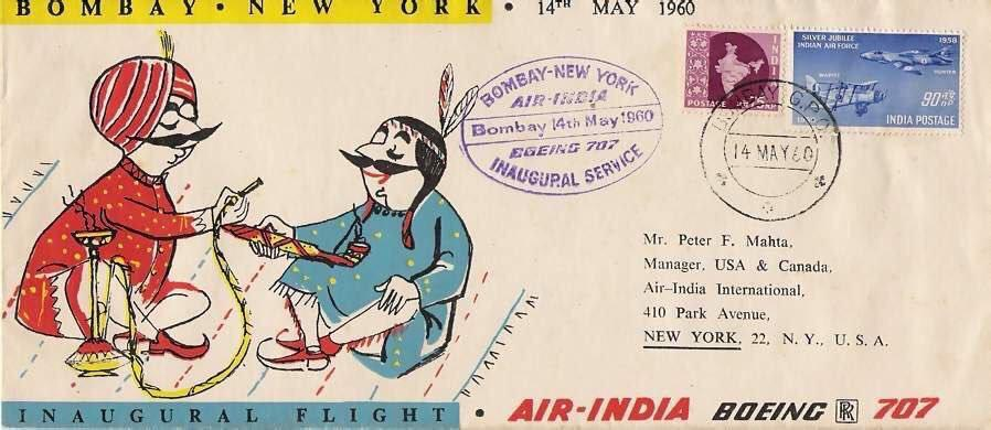 AIR INDIA Celebrates 60 Years Of Its First Flight To USA