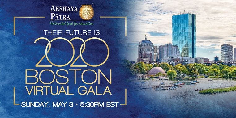 Akshaya Patra Foundation USA Hosts First Virtual Gala And Raises $1 Million To Provide COVID-19 Relief To Migrant Workers And Children In India