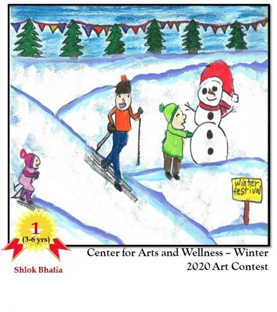 The Center For Arts And Wellness Announces Its Winter Art Contest Winners