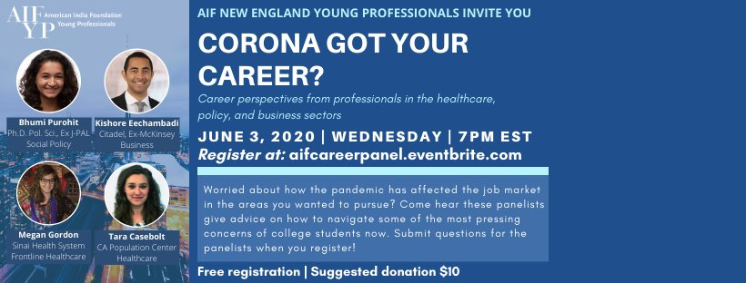 Corona Got Your Career - AIF Young Professionals Workshop