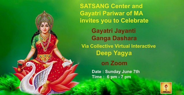 Gayatri Jayanti And Ganga Dashara At Satsang Center