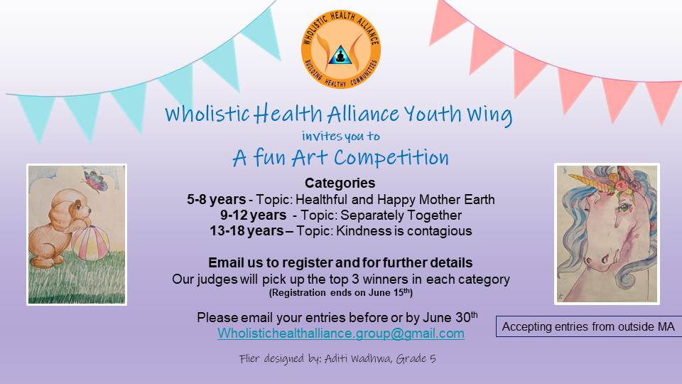 Wholistic Health Alliance App Project And Art Contest