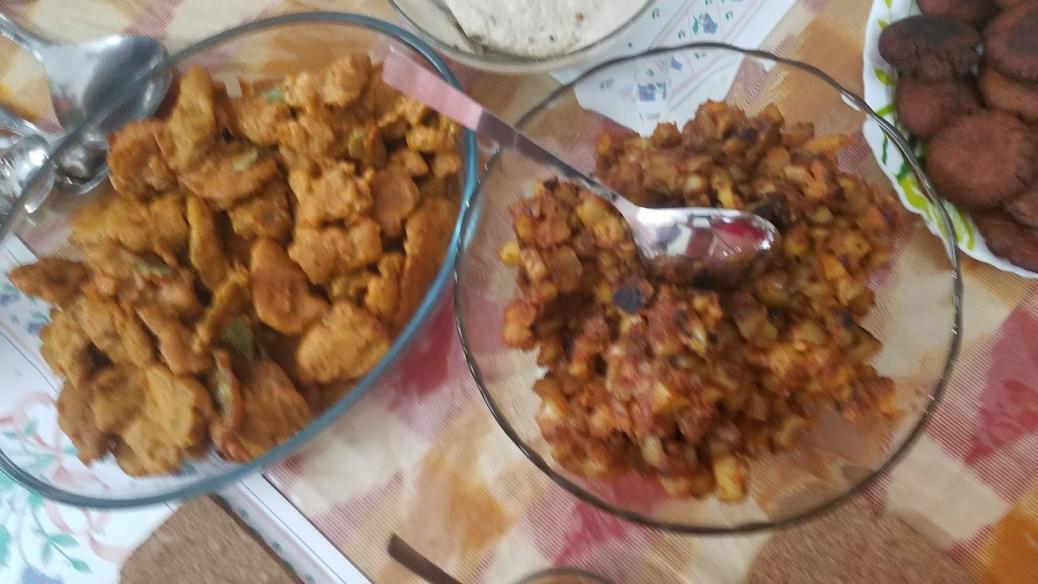 Recipes -  Pudina Pakoras