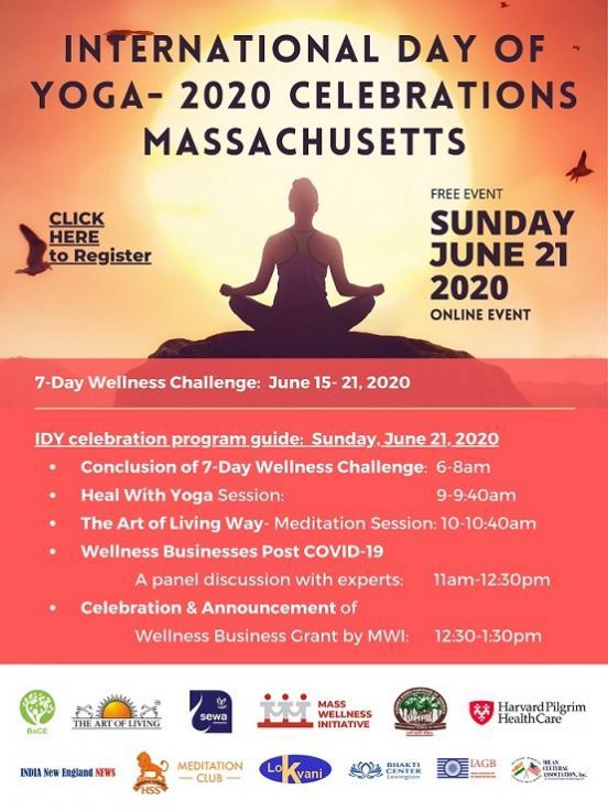 International Day Of Yoga - 2020 Celebrations