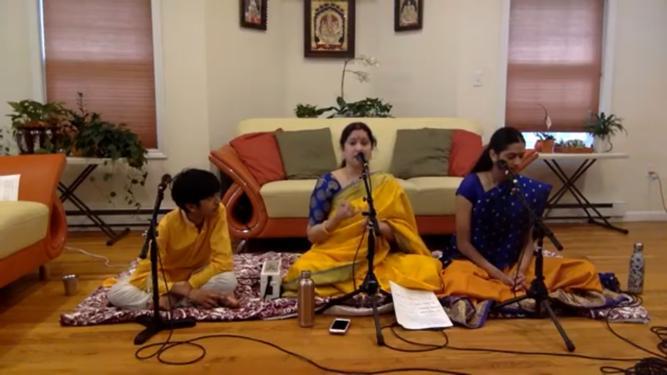 Time Travel Through Carnatic Music