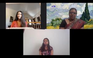 Meet Esha Shetty And Sanjana Krishnan
