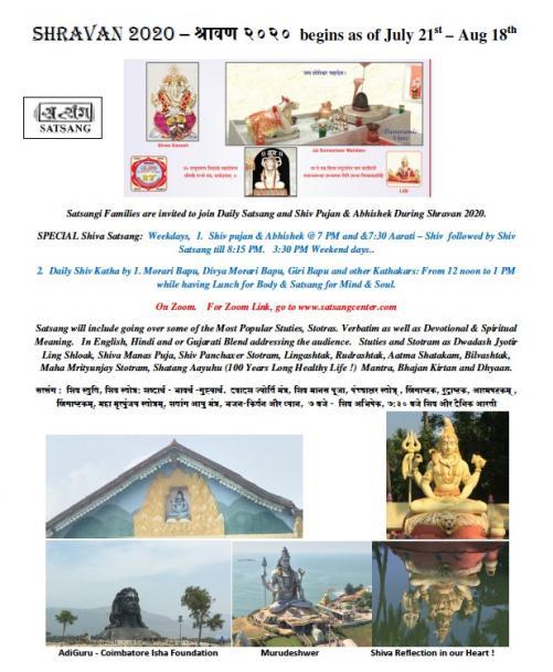 Daily Aarati And Saravan 2020 At Satsang Center
