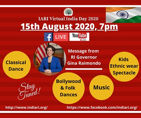 IARI: Virtual India Day Celebration 2020