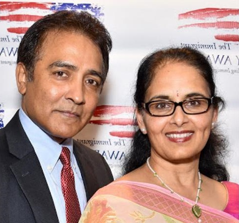 Raj And Aradhana Asava Announce $1 Million Pledge To Feeding America