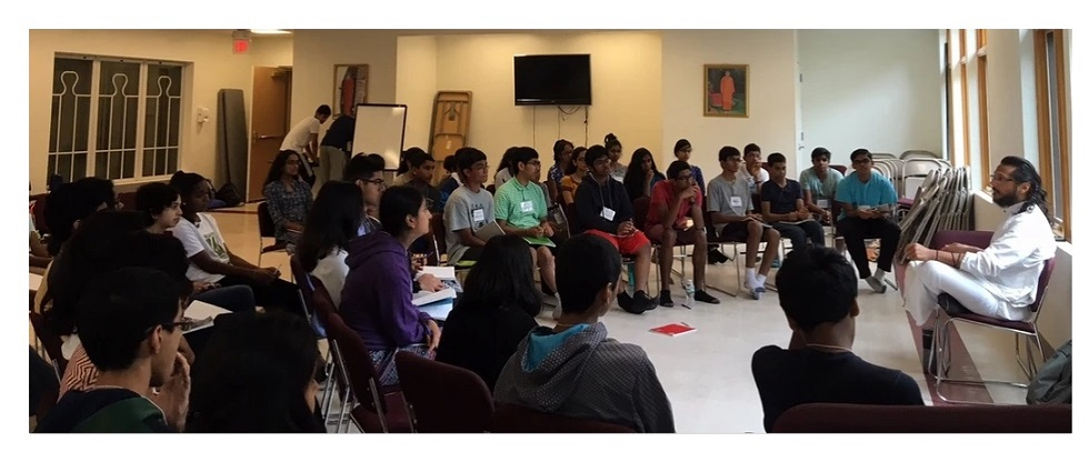 Junior CHYK Camp At Chinmaya Mission Boston