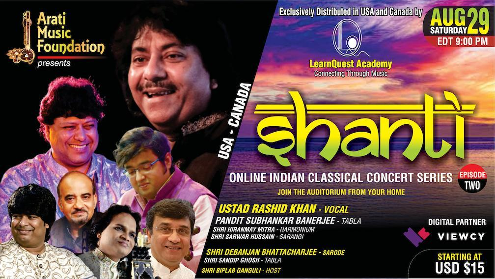 Ustad Rashid Khan To Perform On August 29th Via Internet Streaming