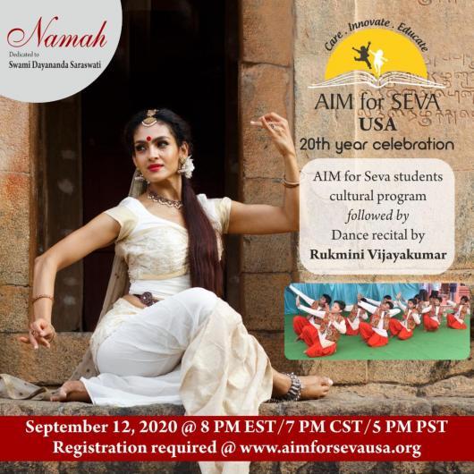 AIM For SEVA: 20th Anniversary Virtual Event