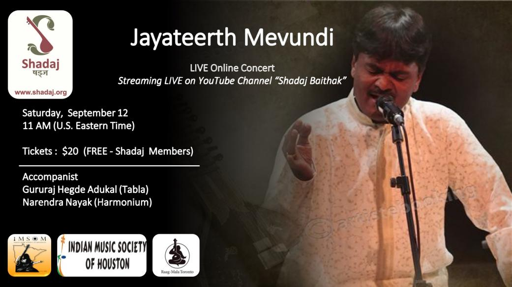 Shadaj: Hindustani Classical Vocal By Jayateerth Mevundi