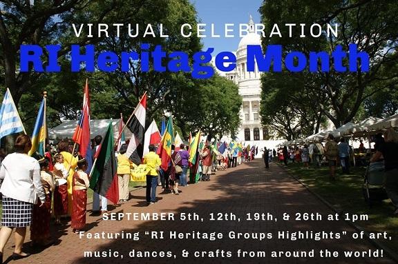 IARI In Rhode Island's Virtual Heritage Month Celebration