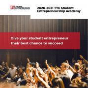 TYE Student Entrepreneurship Academy: Application Deadline Is September 18th!