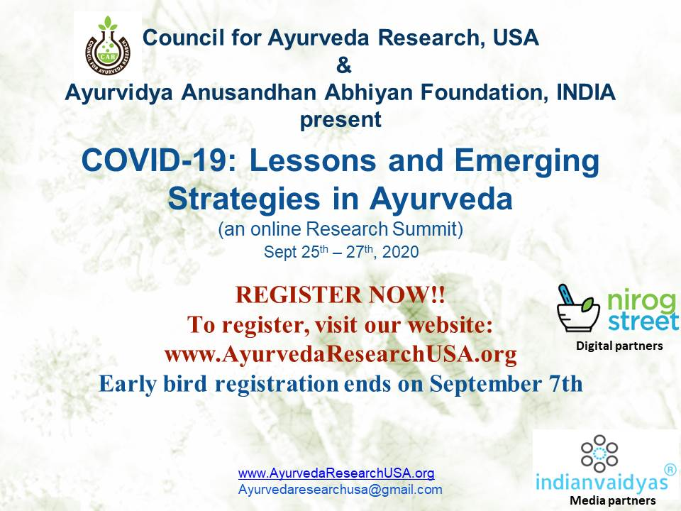 COVID 19 - Lessons And Emerging Strategies In Ayurveda