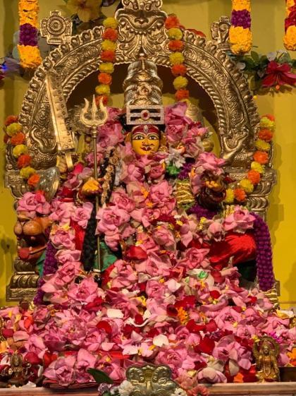 Sarannavaratri Celebrations At Sri Siddha Lalitha Peetham (Durga Temple)
