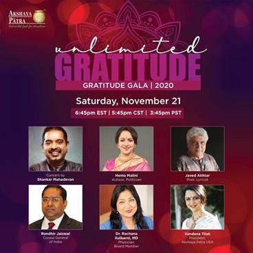 Akshaya Patra Gratitude Gala