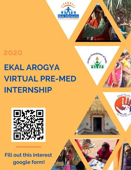 Premedical And Other Ekal Internships