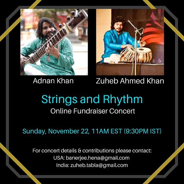 Strings And Rhythm: Indian Classical Instrumental Concert