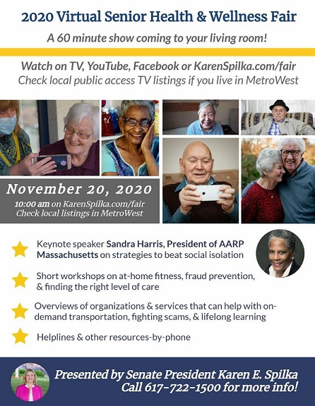 2020 Virtual Senior Health And Wellness Fair