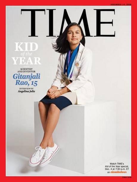 Gitanjali Rao Is Time Magazine's Kid Of The Year