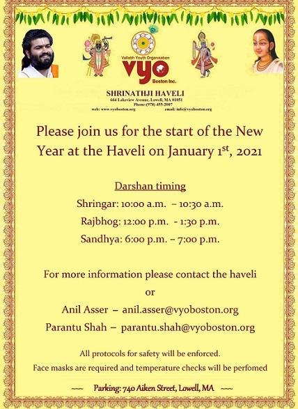 VYO: New Year Darshans