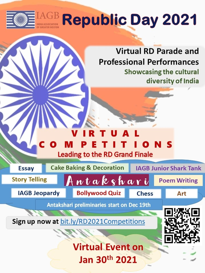 Register For IAGB's Republic Day Competitions And Learning Series
