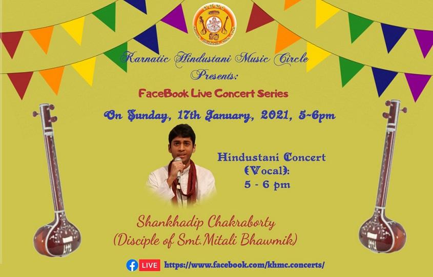 KHMC Concert - Shankhadip Chakraborty