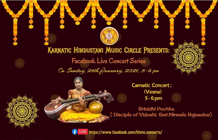 KHMC Concert - Srinidhi Puchha