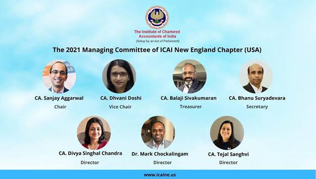 Indian Chartered Accountants Inaugurate New England Chapter With A Commitment To Building The Community