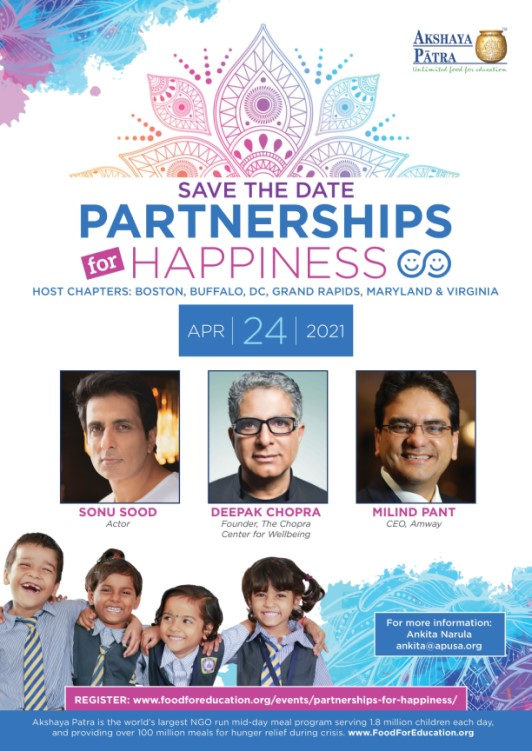 Akshaya Patra's 'Partnerships For Happiness' Gala