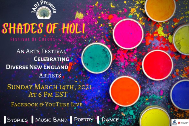 India Association Of Rhode Island Celebrates Shades Of Holi- A Cultural Evening With An Artistic Touch