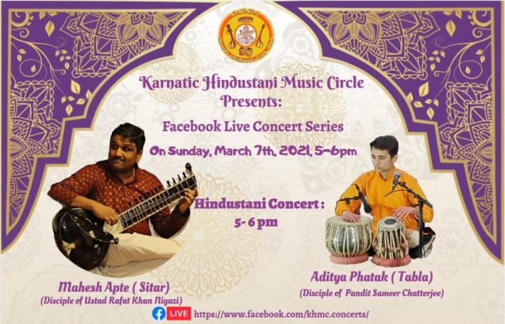 KHMC Concert - Mahesh Apte And Aditya Phatak