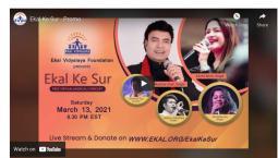Ekal Ke Sur - Melodious Concert For A Cause