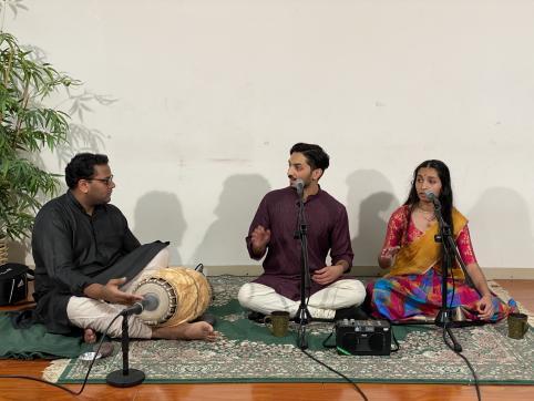 A Wholesome Carnatic Music Cutcheri  By Sudarshan Thirumalai, Amrita Thirumalai And Tarun Bangalore