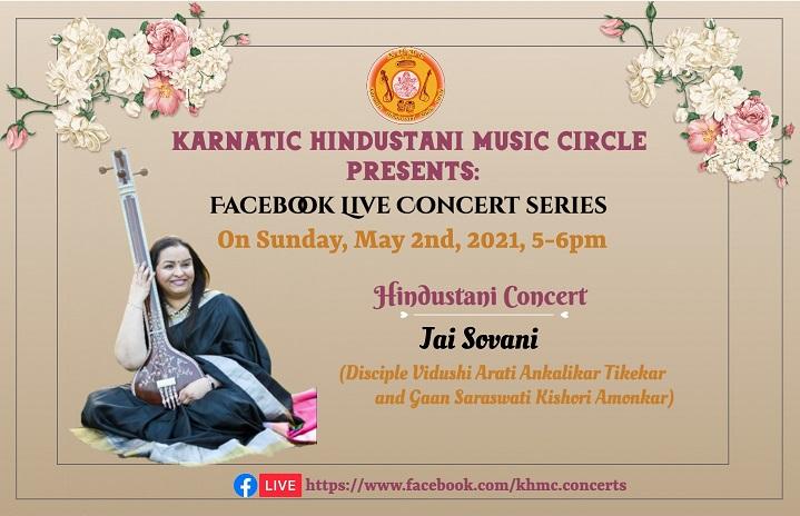 KHMC Concert - Jai Sovani