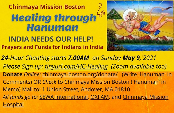 An Appeal:  Healing Through Hanuman - COVID Relief For India