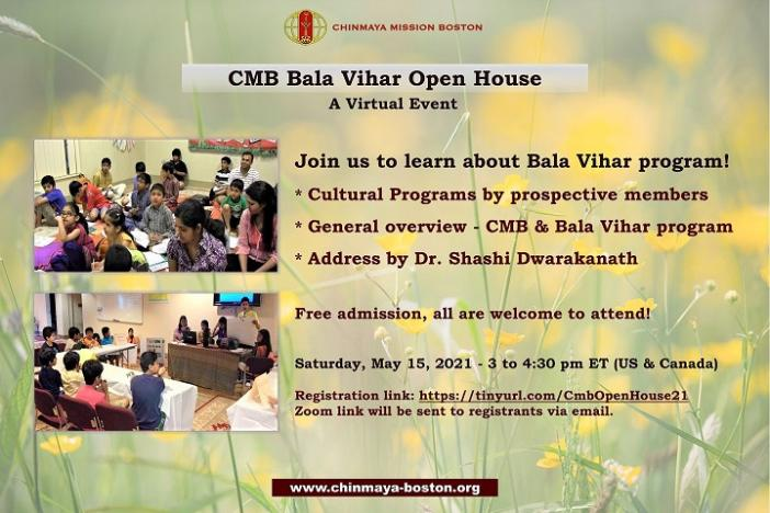 Chinmaya Mission Boston Hosts Virtual Open House