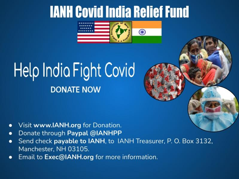 IANH Launches Covid India Relief Fund