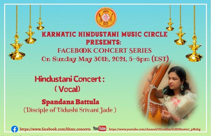 KHMC Concert - Spandana Battula