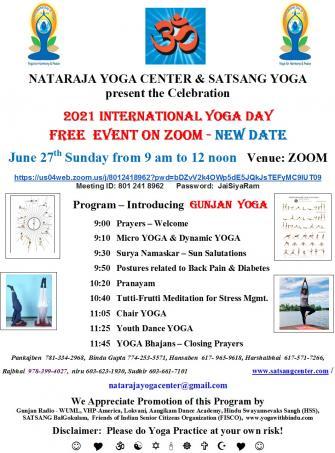 2021 International Yoga Day