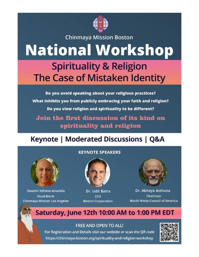 Workshop On Spirituality And Religion