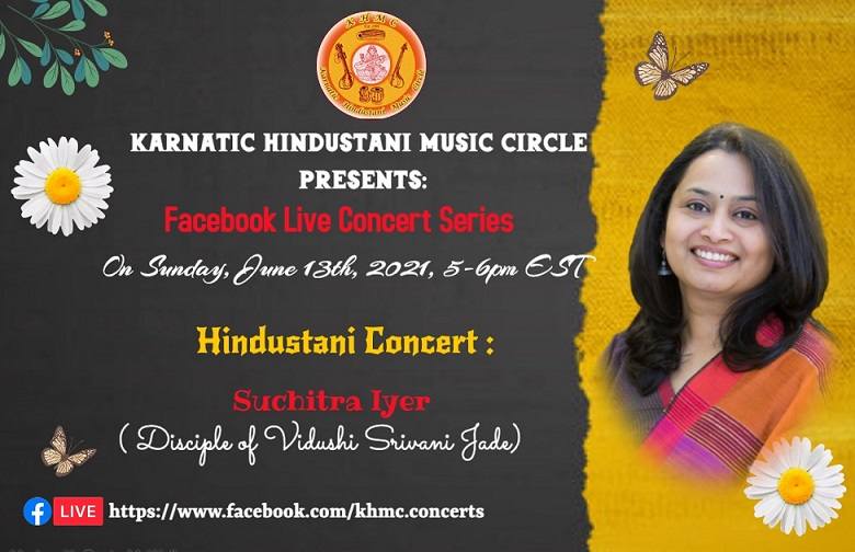 KHMC Concert - Suchitra Iyer